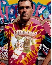 Greg Speirs – Creator of the Slammin Skullman Lithuanian Tie Dye T-Shirts