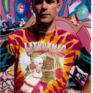 Greg Speirs Creator of 1970's Rock Music Magazine Grooves & 1992 Lithuania Tie Dye Basketball Jerseys