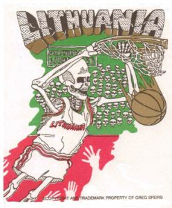 Copyright 1992 Greg Speirs Lithuania trademark & Copyright 1992